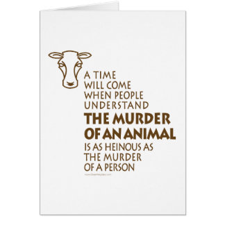 Animal Rights Quote Card