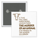 Animal Rights Quote Pinback Button