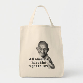 Animal Rights Tote Bag