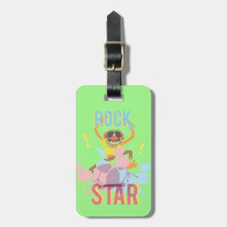 Animal - Rock Star Bag Tag