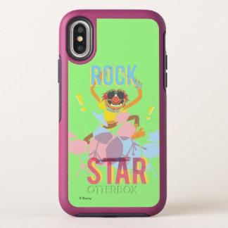Animal - Rock Star OtterBox Symmetry iPhone X Case