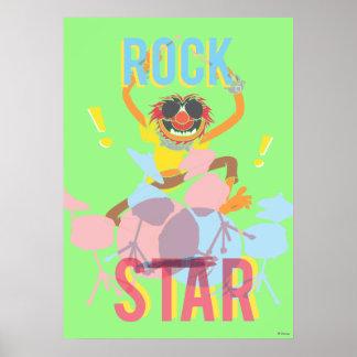 Animal - Rock Star Poster
