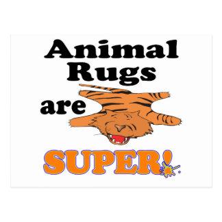 animal rugs are super postcard
