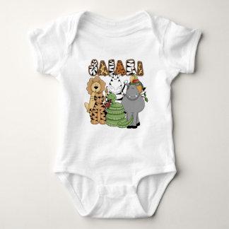Animal Safari Baby Bodysuit