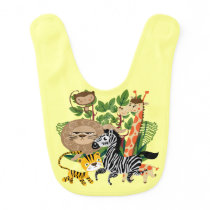 Animal Safari Bib