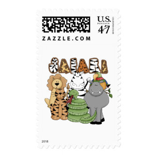 Animal Safari Postage