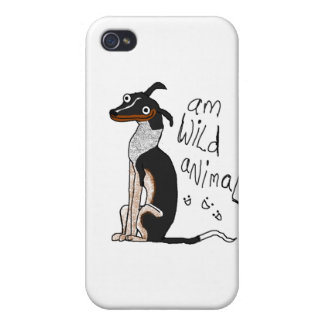 Animal salvaje de la iPhone 4/4S fundas