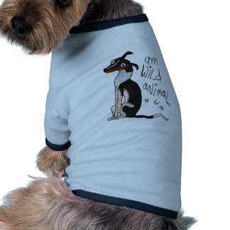 Animal salvaje de la ropa perro