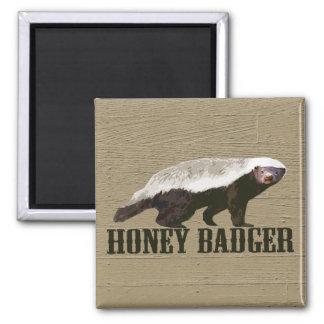 Animal salvaje del tejón de miel iman para frigorífico