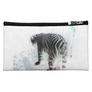 Animal salvaje del tigre blanco