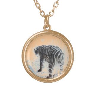 Animal salvaje del tigre blanco joyeria