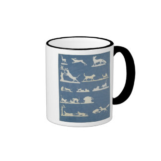 Animal Scenes and Playing Cats Mugs