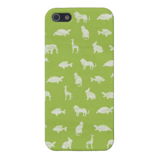 Animal Silhouettes Iphone Case iPhone 5 Cover