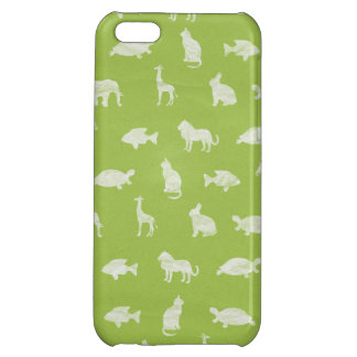 Animal Silhouettes Iphone Case iPhone 5C Cover