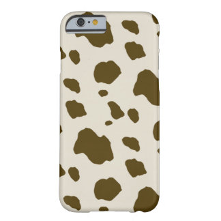 Animal Skin Brown Cow Spots Barely There iPhone 6 Case