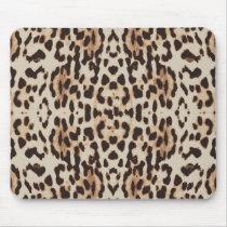 Animal skin print pattern mouse pad