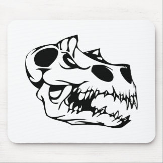 Animal Skull Mouse Pad