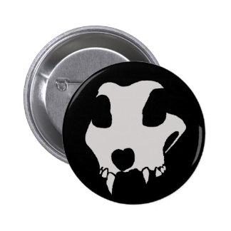 animal skull pin