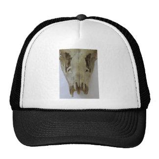 animal skull trucker hat