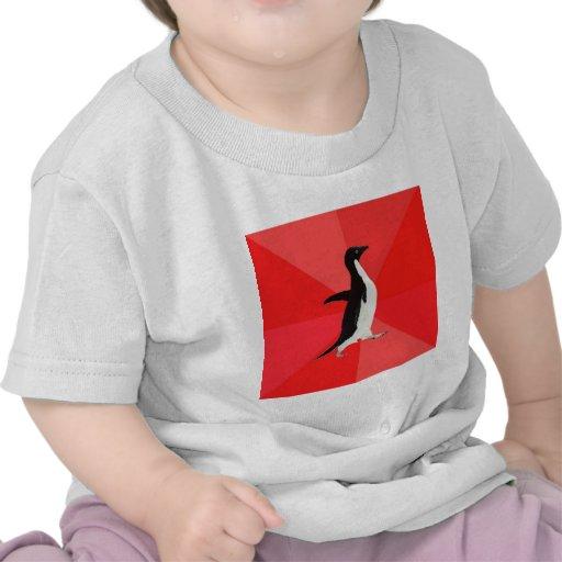 Animal social impresionante Meme del consejo del p Camisetas