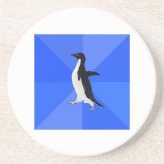 Animal social torpe Meme del consejo del pingüino Posavasos Cerveza