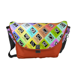 Animal Spirit Meanings 25 Totem Animals Courier Bag