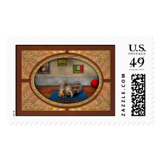 Animal - Squirrel - And stretch Two Three Four Postage Stamps