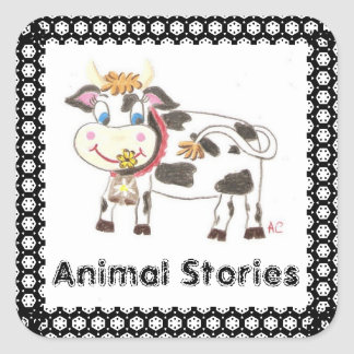 Animal stories book stickers 2