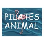 Animal SUPERIOR de Pilates Tarjetas De Visita Grandes
