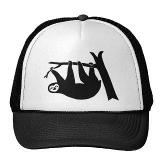 animal t-shirt sloth faultier faul lazy trucker hat