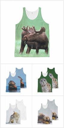 Animal T-Shirts and Tank Tops