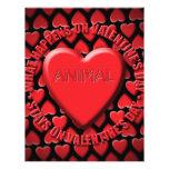 animal tarjeta publicitaria