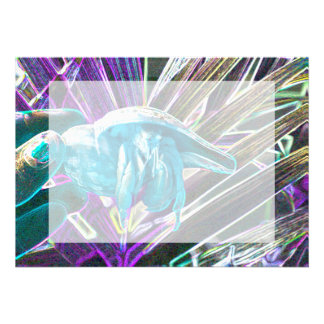 animal temático azul del bosquejo del cangrejo de  invitacion personalizada