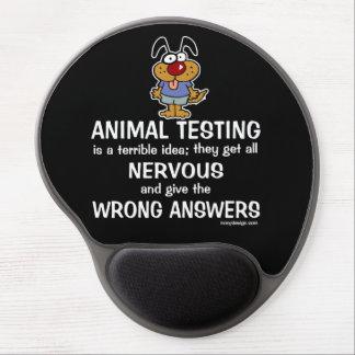 Animal Testing Humor Gel Mousepad