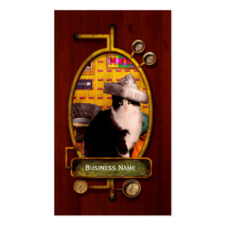 Animal - The Cat Double-Sided Standard Business Cards (Pack Of 100)