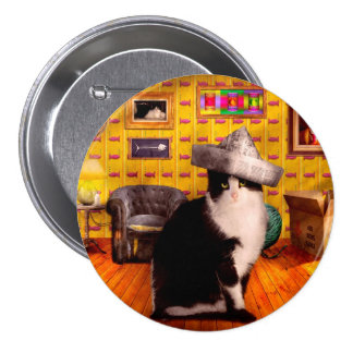 Animal - The Cat Pinback Button