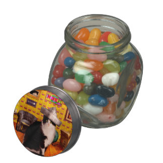 Animal - The Cat Jelly Belly Candy Jars