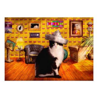 Animal - The Cat Invite