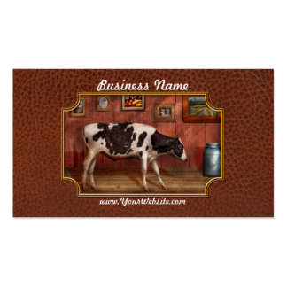 Animal - The Cow Double-Sided Standard Business Cards (Pack Of 100)