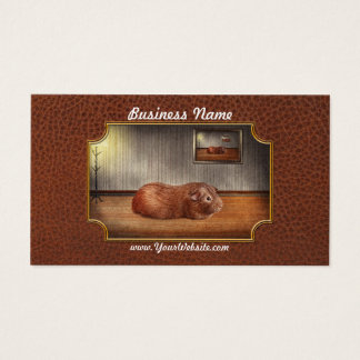Animal - The guinea pig Business Card