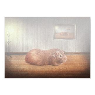 Animal - The guinea pig Invitation