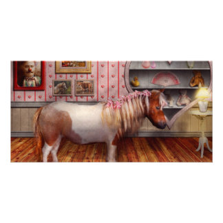 Animal - The Pony Photo Greeting Card