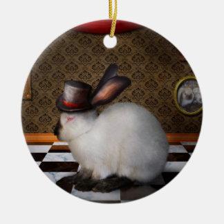 Animal - The Rabbit - Reverse version Christmas Ornaments