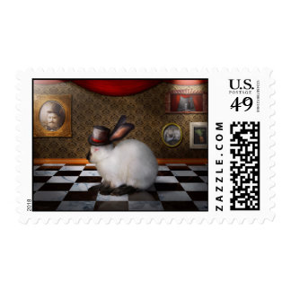 Animal - The Rabbit - Reverse version Postage Stamps
