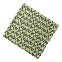 animal-themed dog paw pattern bandana
