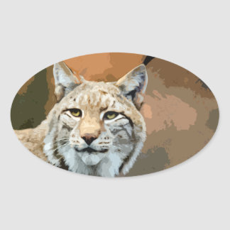 Animal-themed Sticker - Lynx