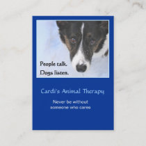 Animal Therapy Business Card