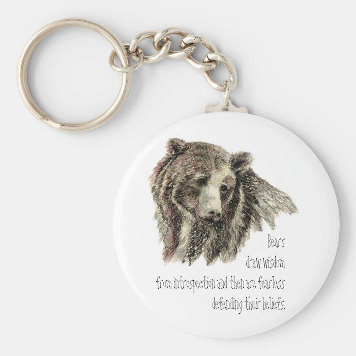 Animal Totem, Spiritual, Inspiration Encouragement Keychain