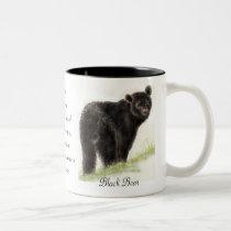 Animal Totem, Spiritual, Inspiration Encouragement Two-Tone Coffee Mug