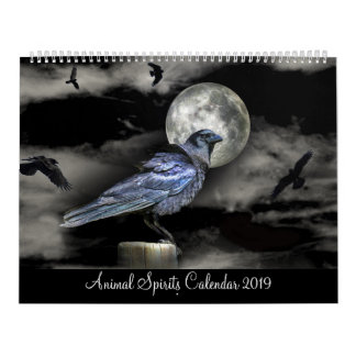 Animal Totems 2019 Spirits Calendar Spirit Guides